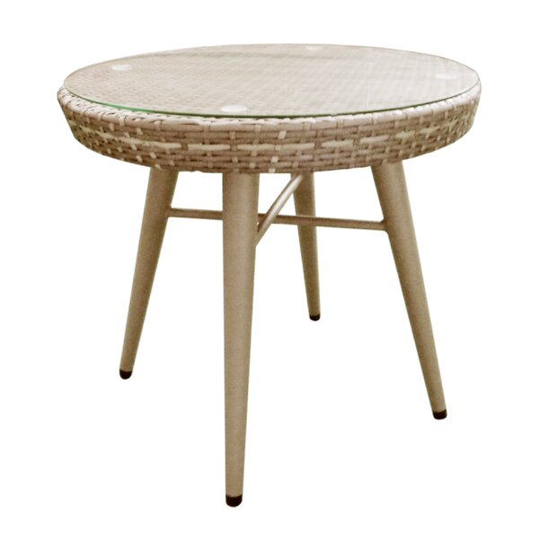 Pantano Outdoor Side Table by Bungalow Rose