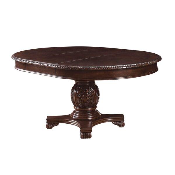 Caudillo Extendable Dining Table by Astoria Grand Astoria Grand