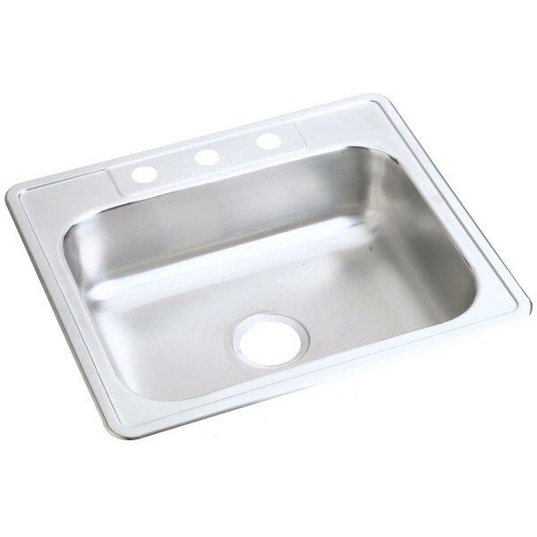 Dayton 25 L x 21 W Drop-In Kitchen Sink by Elkay