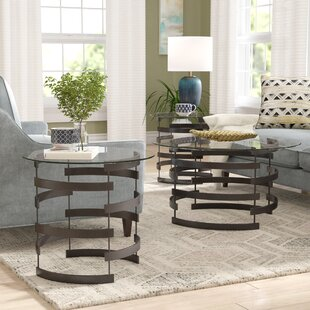 Review Bailey 3 Piece Coffee Table Set by Latitude Run