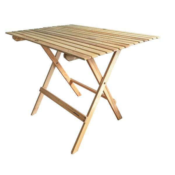 Goodridge Folding  Wood Dining Table by August Grove