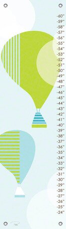 Modern Balloons Growth Chart by Oopsy Daisy