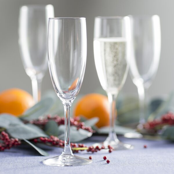 Dunn 5.75 Oz. Champagne Flute (Set of 4) by Mint Pantry