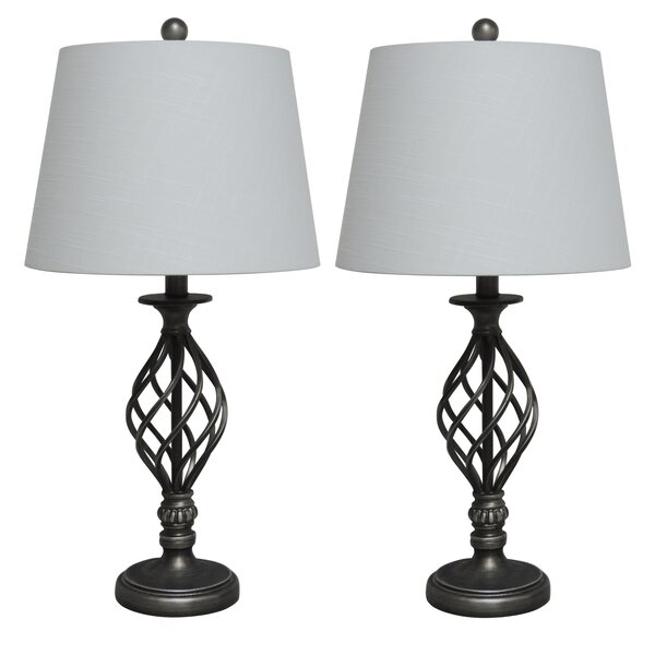 Kellen 27 Table Lamp (Set of 2) by Charlton Home