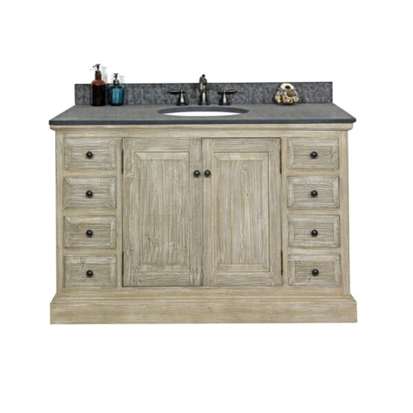 Wardlaw Solid Recycled Fir 48 Single Bathroom Vanity Set by Millwood Pines