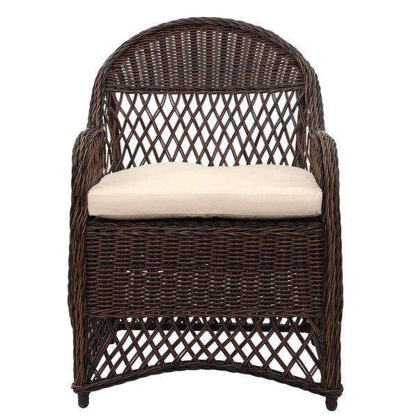 Darwin Chair with Cushion by Bungalow Rose