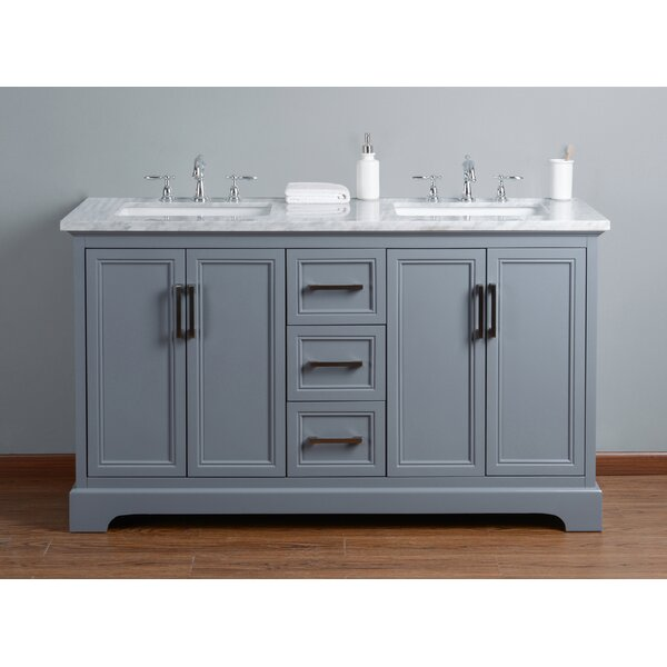 Ravenworth 60 Double Bathroom Vanity Set by Beachcrest Home