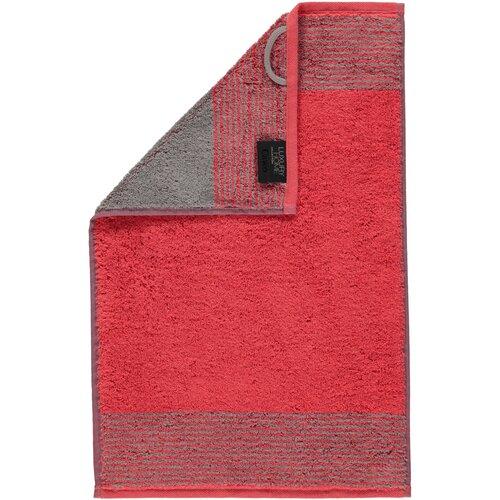 Zweifarbiges Gästehandtuch (Set of 2) Cawö Farbe: Rot | Bad > Handtücher > Gästehandtücher | Cawö
