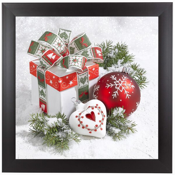 Festive Gift Framed Photographic Print by East Urb