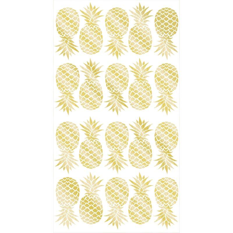 WallPops! Pineapple Wall Decal & Reviews | Wayfair