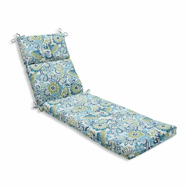 Indoor/Outdoor Chaise Lounge Cushion by Andover Mills