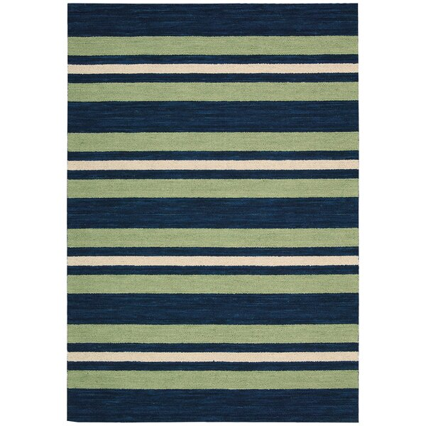 Oxford Handmade Green/Blue Area Rug by Barclay Butera