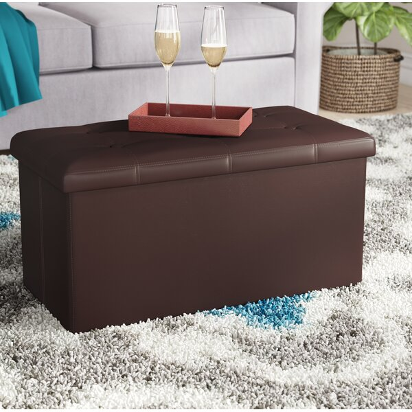 Francine Storage Ottoman by Charlton Home
