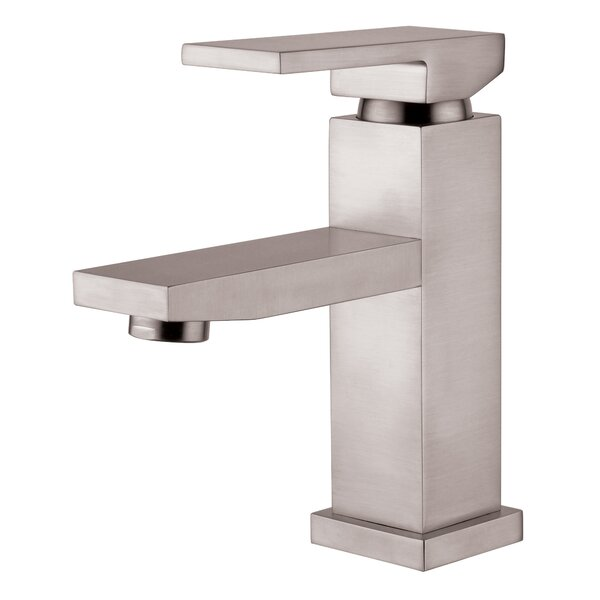 Single Hole Lavatory Faucet with by Yosemite Home Decor