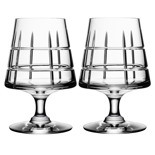 Street Cognac 5 oz. Crystal Snifter Glass (Set of 2) by Orrefors