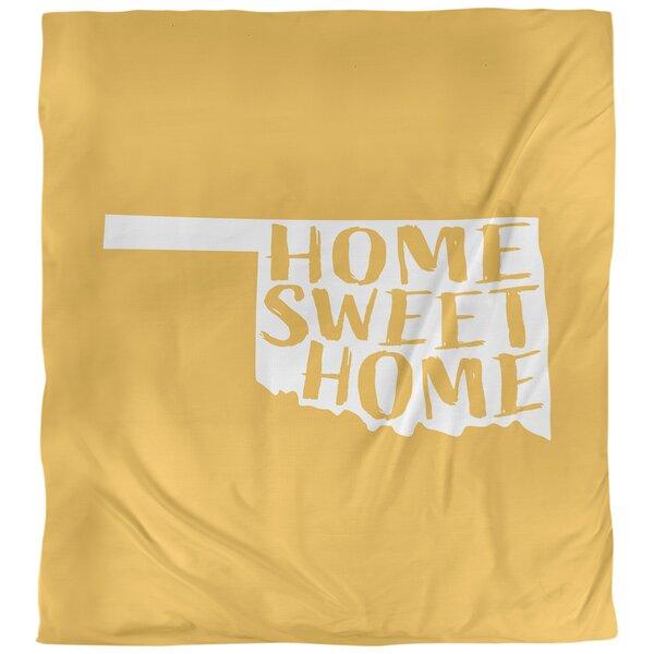 Home Sweet Oklahoma Duvet Cover