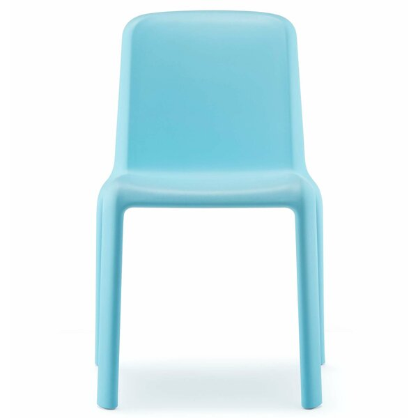 Snow Armless Junior Stacking Chair by Palmieri
