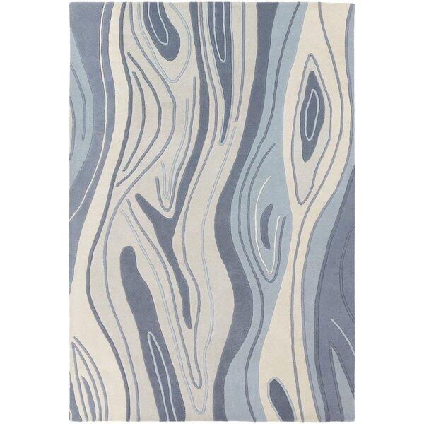 Yaning Blue Area Rug by Orren Ellis
