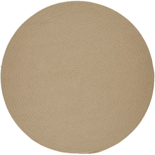 Handmade Beige Indoor/Outdoor Area Rug by The Conestoga Trading Co.