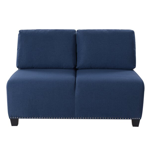 Rosenfeld Accent Settee by Charlton Home