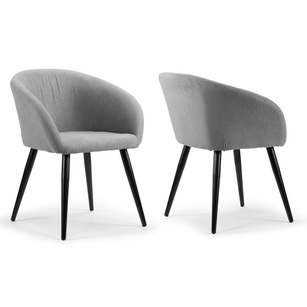 Fernada Upholstered Dining Chair (Set of 2) by Wrought Studio