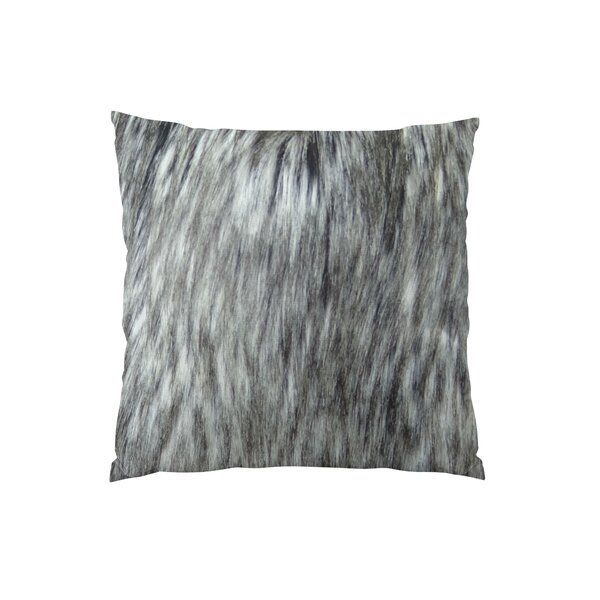 Siberian Husky Handmade Faux Throw Pillow by Plutus Brands