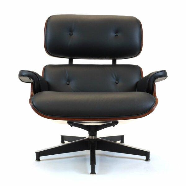 Horowitz Swivel Armchair by Brayden Studio
