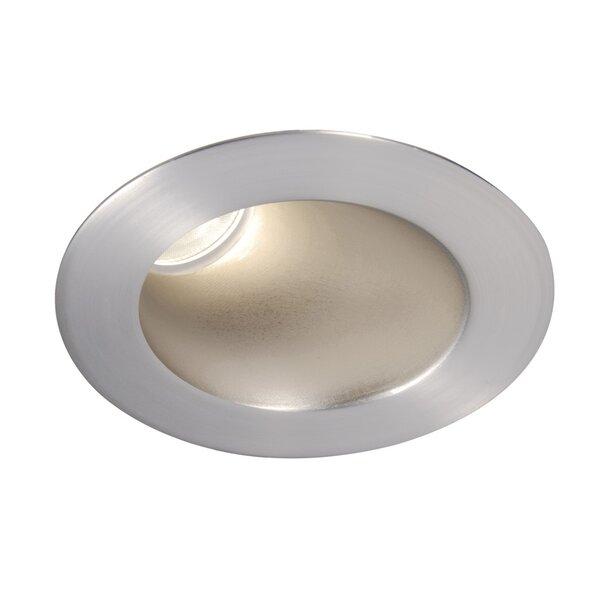 Tesla Adjustable LED 3 Reflector Recessed Trim by WAC Lighting