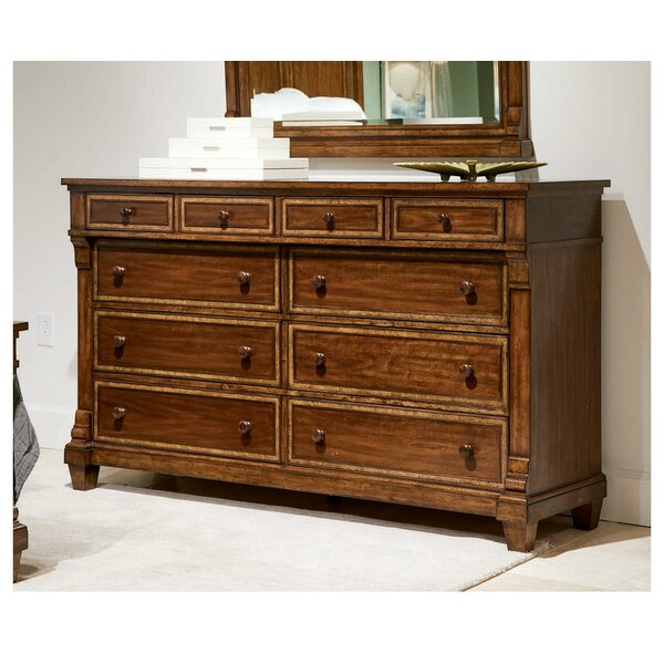 Old Town 10 Drawer Double Dresser by Stanley Furniture