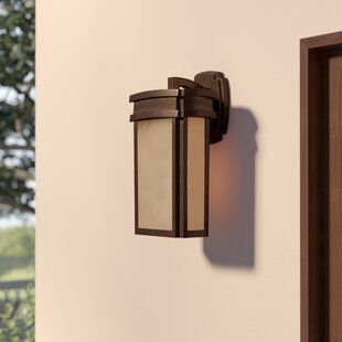 Check Prices Carriage Club 1-Light Outdoor Wall Lantern By Loon Peak