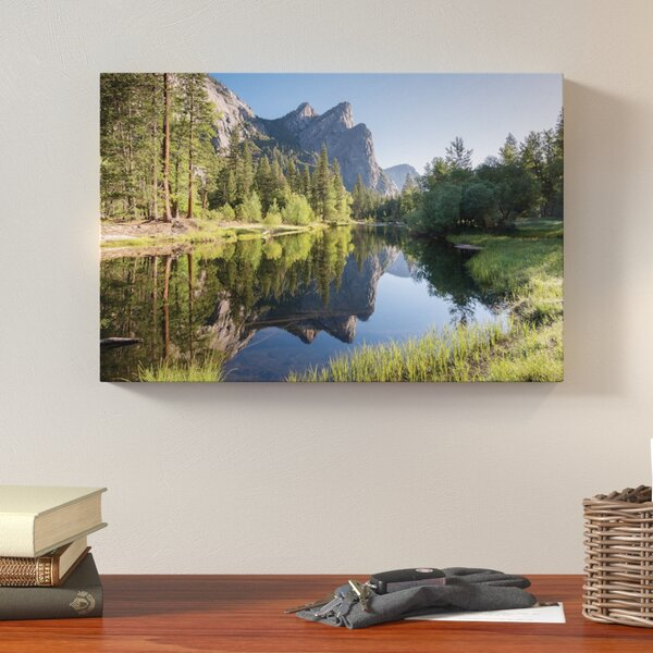 The Three Brothers Photographic Print on Wrapped Canvas by Loon Peak