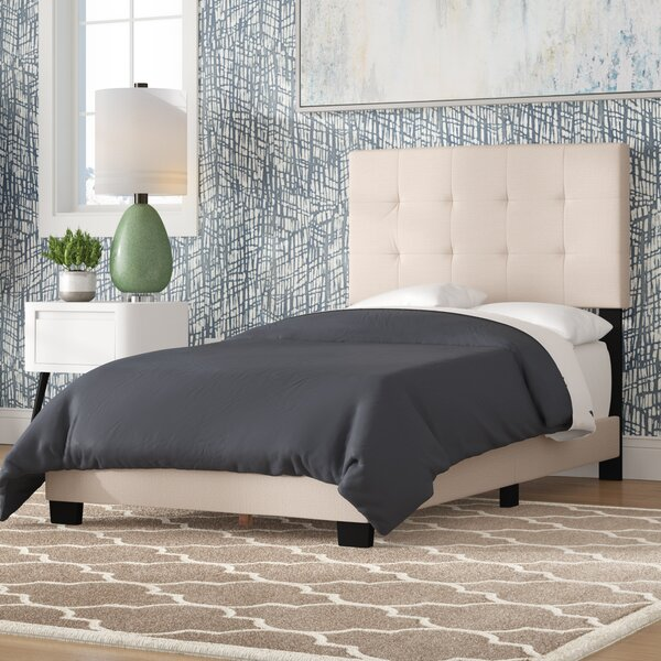 Van Houzen Twin Upholstered Standard Bed by Charlton Home