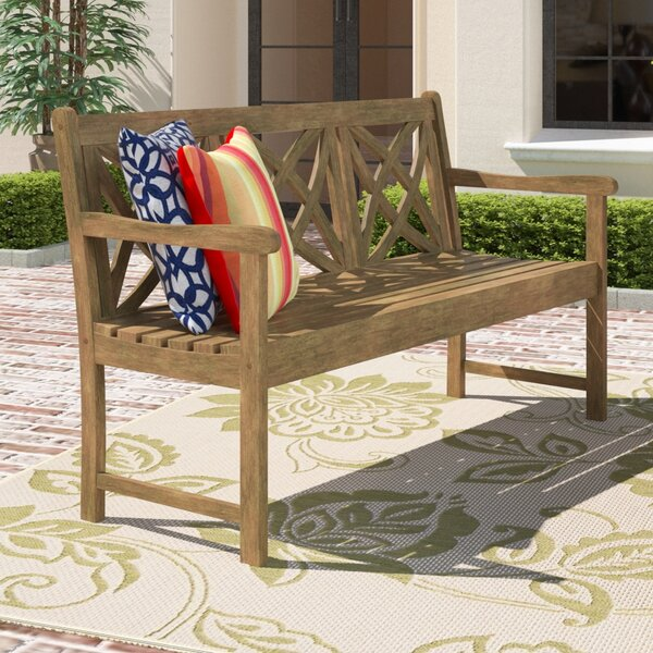 Manchester Wood Garden Bench by Sol 72 Outdoor