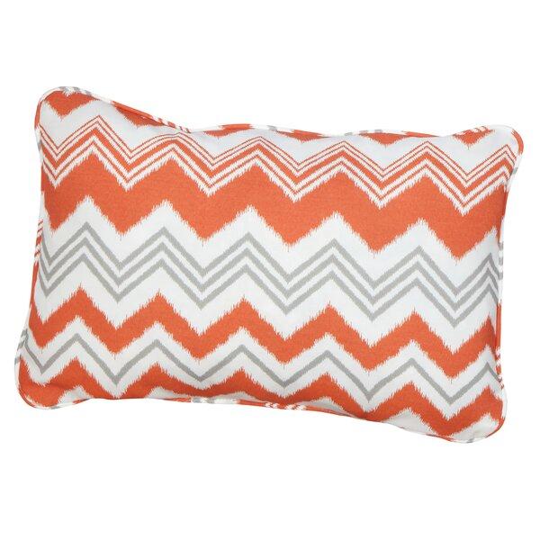Haile Corded Indoor/Outdoor Lumbar Pillow (Set of 2) by Brayden Studio