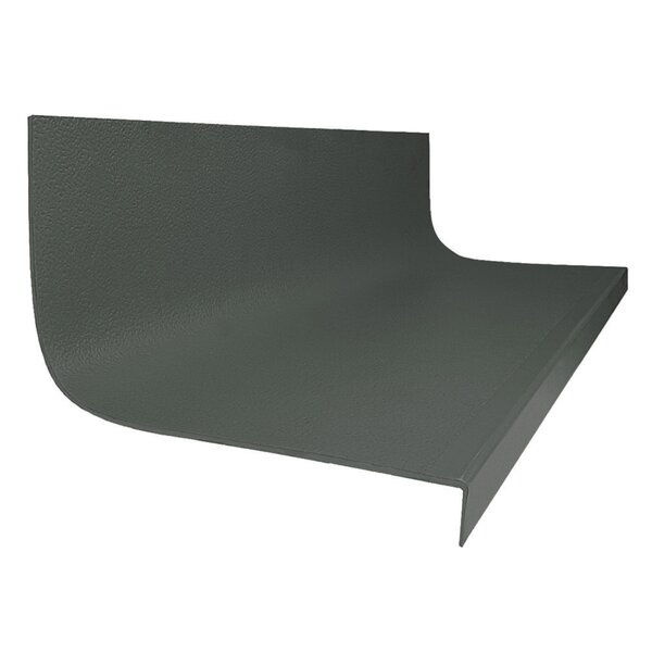 48 Hammered Square Nose Stair Tread by ROPPE