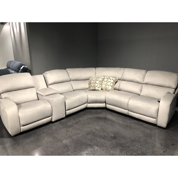 Fandango SoCozi Reversible Reclining Sectional by Southern Motion