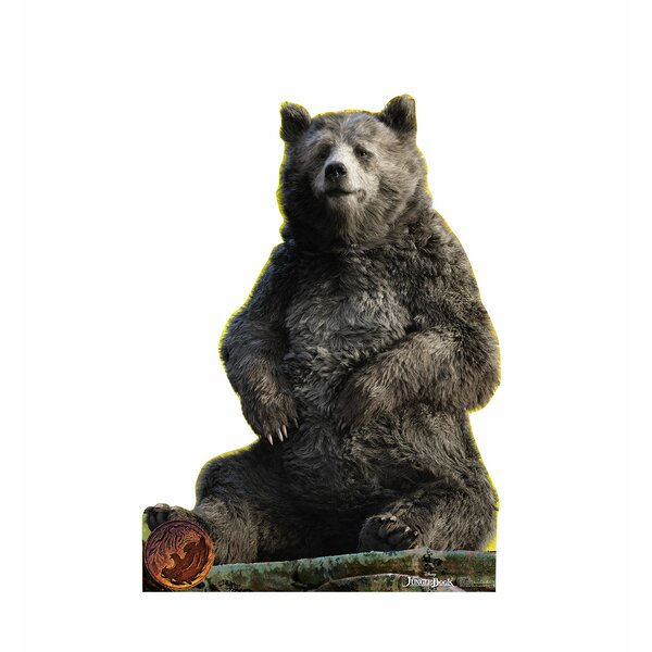 The Jungle Book - Baloo Disney Live Action Life-Size Cardboard Cutout by Advanced Graphics