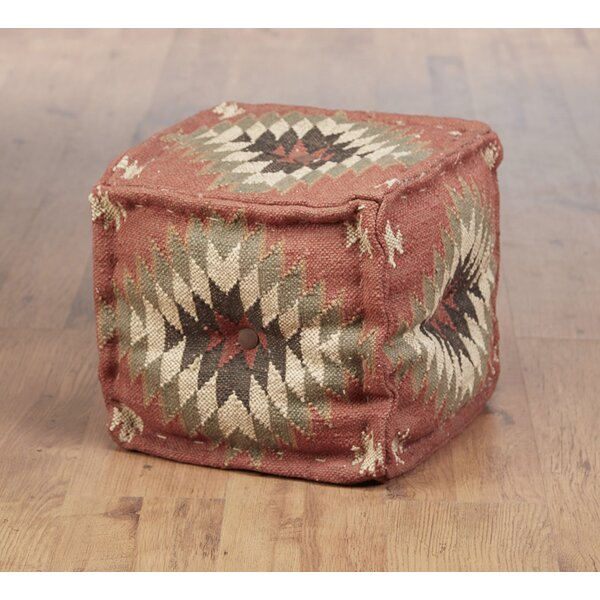 Rubin Kilim Pouf by Union Rustic