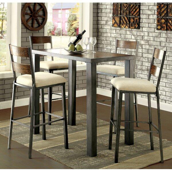 Thurman 5 Piece Pub Table Set by Red Barrel Studio
