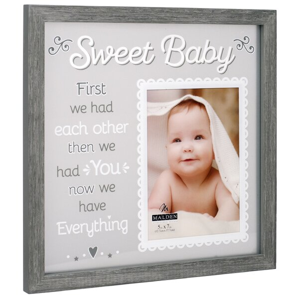 Stamey Sweet Baby Floater Picture Frame by Red Barrel Studio