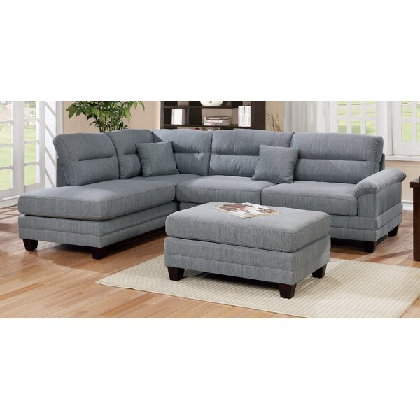 Florala Reversible Sectional With Ottoman By Winston Porter