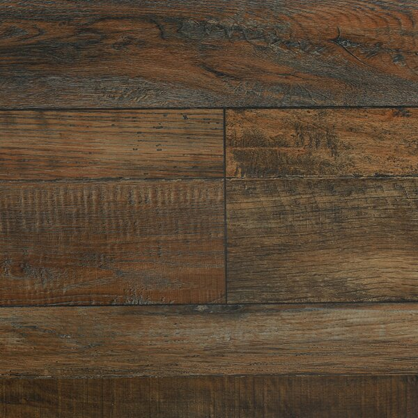 7.8 x 48 x 12.3mm  Laminate Flooring in Vintage Sable by Serradon