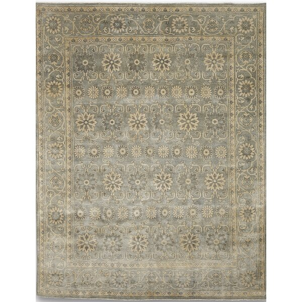 Liverpool Gray Area Rug by Alcott Hill