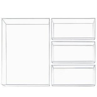4 Piece Drawer Organize Set By InterDesign