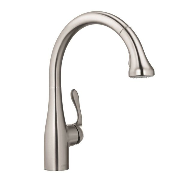 Allegro E Pull Down Bar Faucet by Hansgrohe