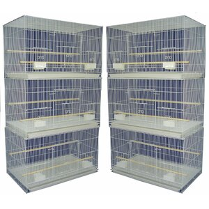 Lot of Six Small Bird Cage