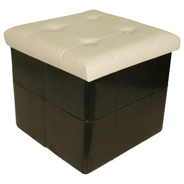 Moline Collapsible Seat Storage Ottoman by Ebern Designs