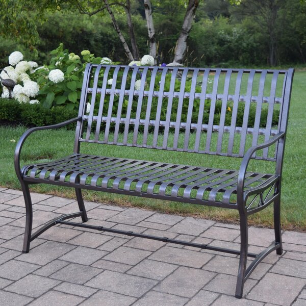 Noble Iron Garden Bench By Oakland Living