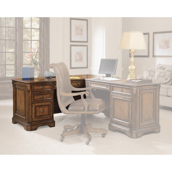 Brookhaven 30.5 H x 68.25 W Left Pedestal Desk by Hooker Furniture