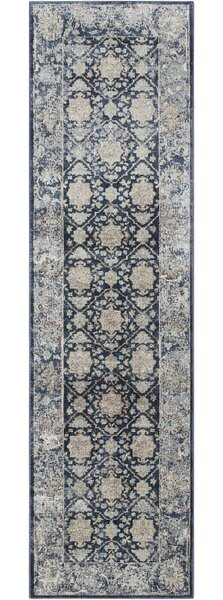 Malta Navy Area Rug by Kathy Ireland Home